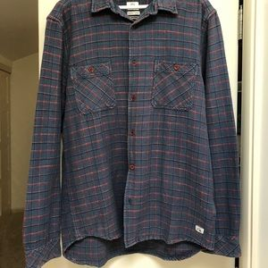 QuickSilver Men's Flannel Medium Layer